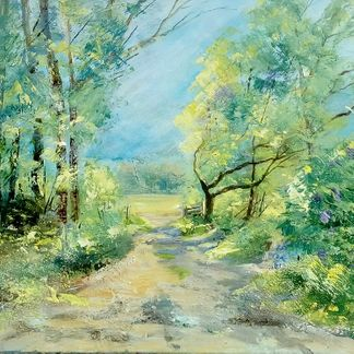 Summer Trail - Tansley Acrylic (72 x 56cm)